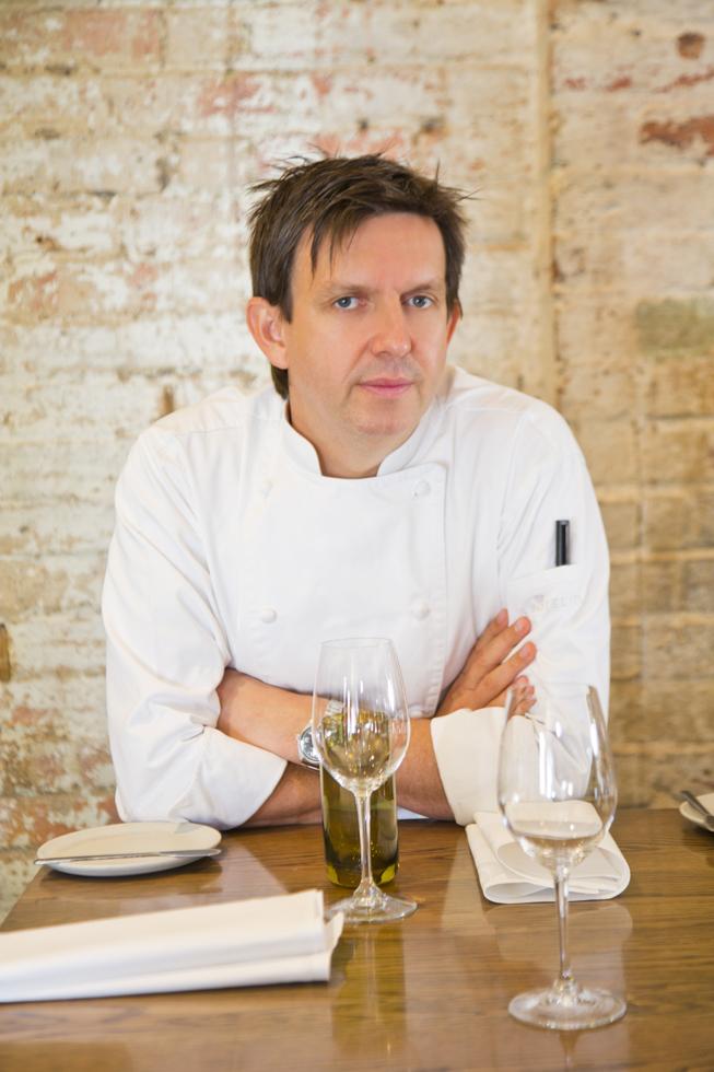 Andrew McConnell (Besitzer und Küchenchef), Restaurant Cutler & Co, Melbourne, Australien