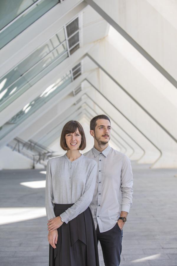 Spanien, Valencia, Stadt der Wissenschaften, Wissenschaftsmuseum, Instagramer, Designer und Künstler Anna Devis und Daniel Ruedas