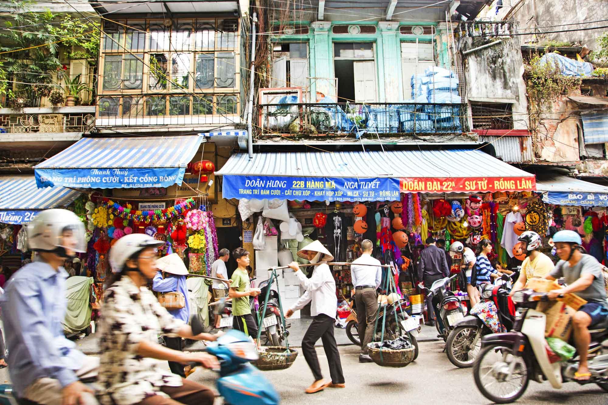 Vietnam, Hanoi, Strassenszene