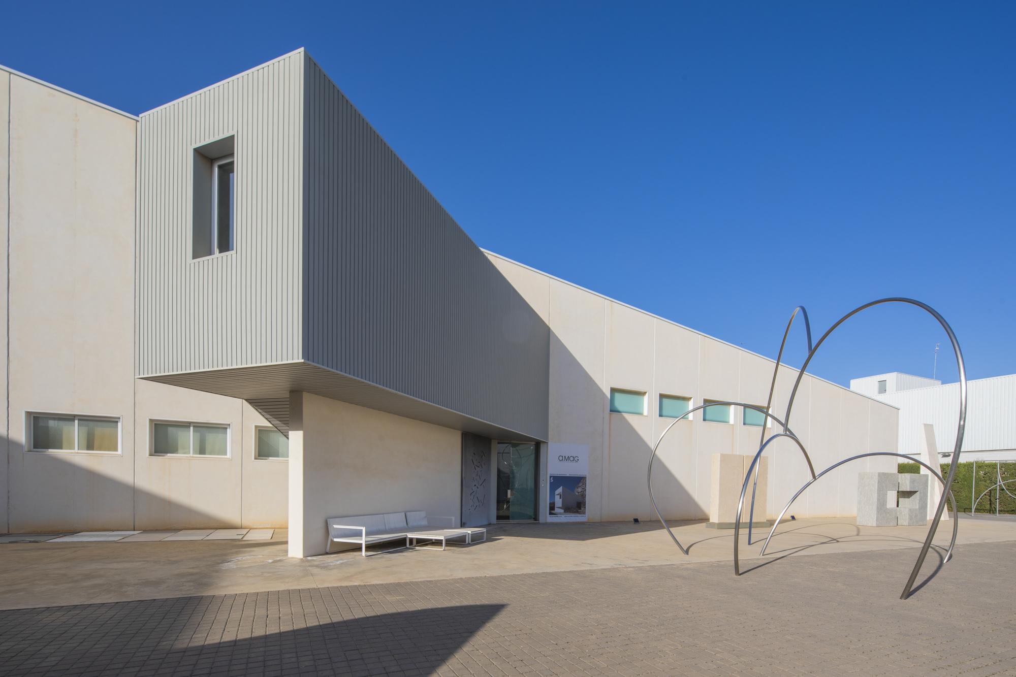 Spanien, Valencia, Espai Alfaro, Espacio Alfaro, Architekt Emilio Gimenez, Skulpturen: Andreu Alfaro,