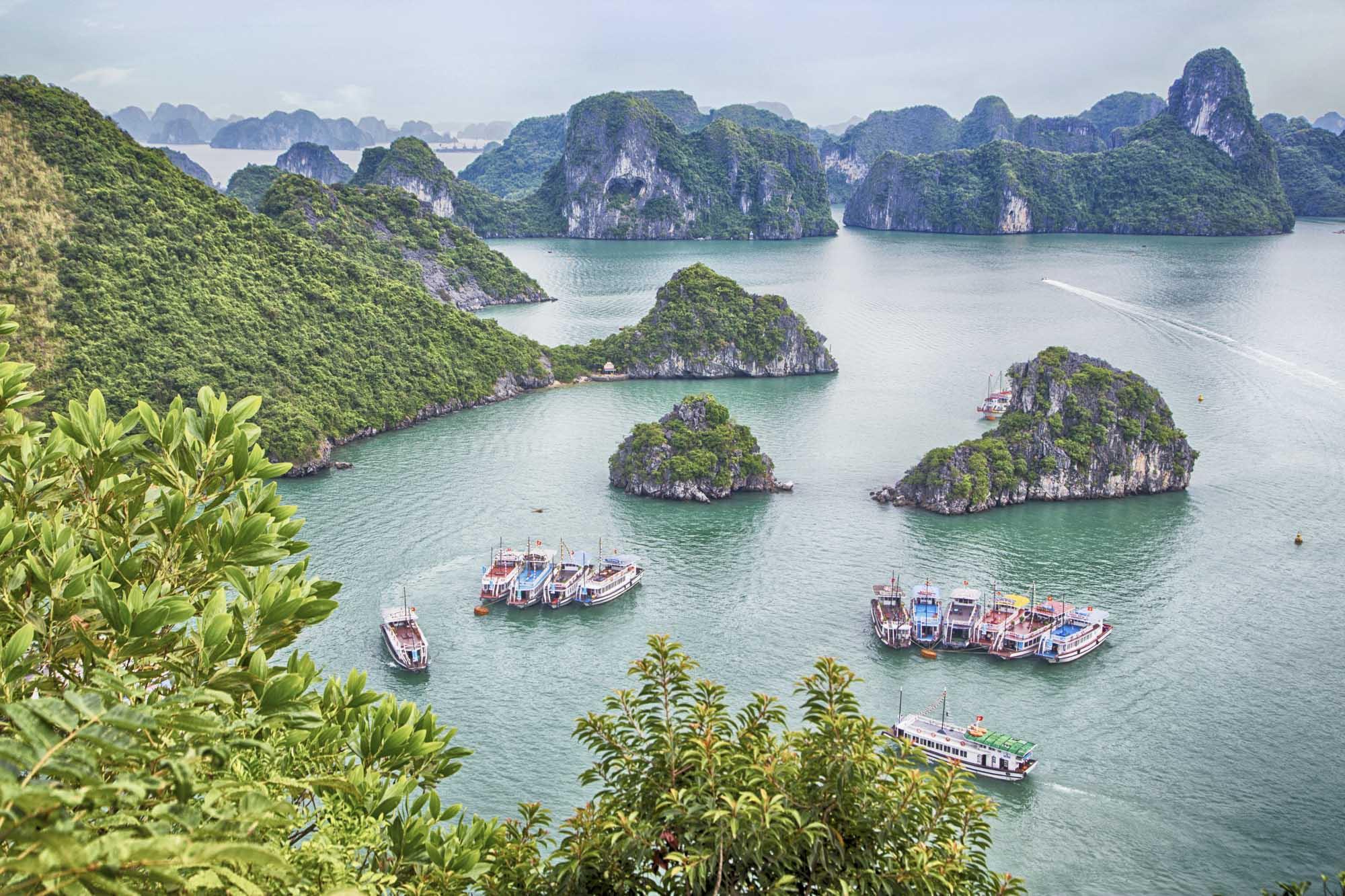 Asien, Vietnam, Halong Bucht