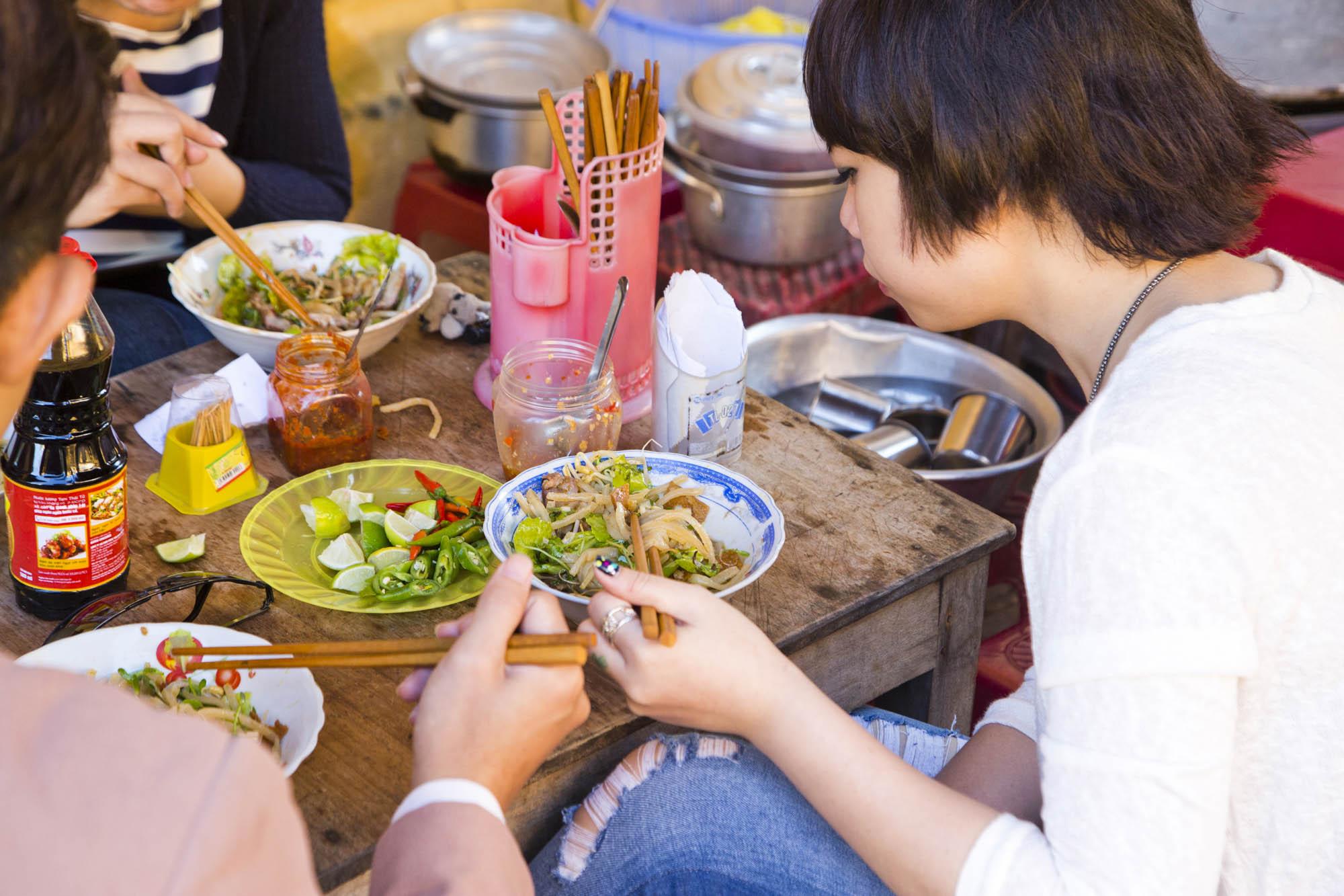 Asien, Vietnam, Hoi An, mobile Garküche, Streetfood, Restaurant