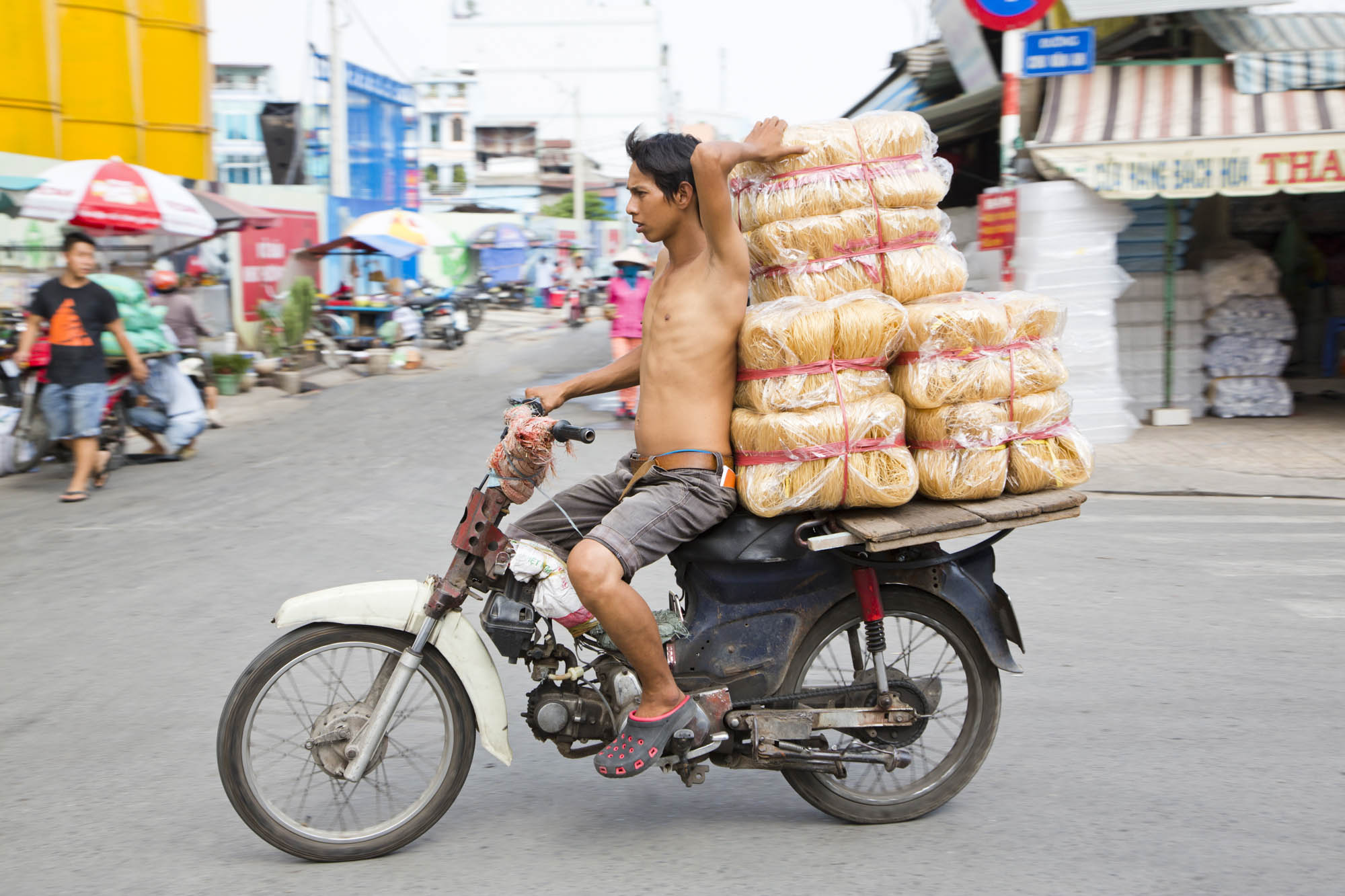 Asien, Vietnam, Saigon, Ho Chi Minh Stadt,