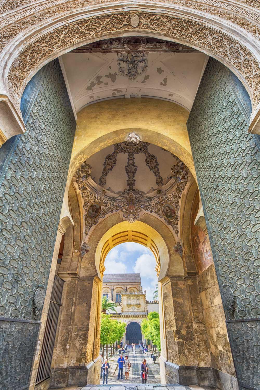 Spanien, Cordoba, Moschee-Kathedrale, Puerta del Perdon, Büßertor, Tor zum Patio de los Naranjos, Orangenhof