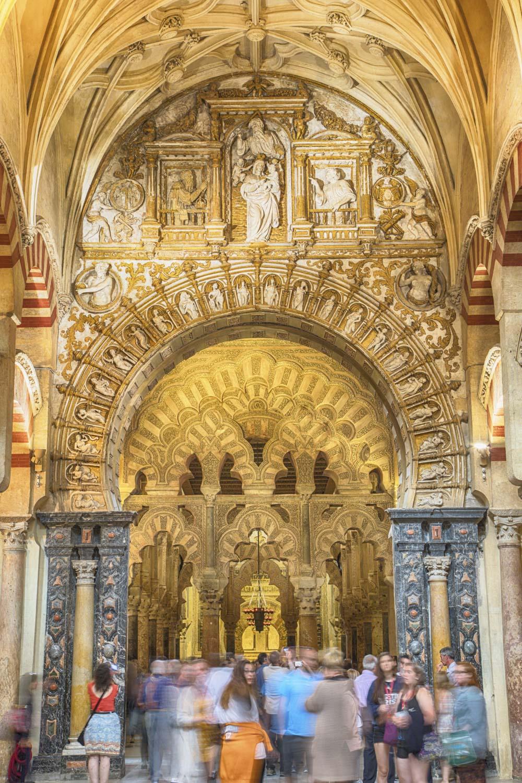 Spanien, Cordoba, Moschee-Kathedrale, Moschee und christliche Kathedrale, Religion, Glauben, Architketur, maurische Architektur