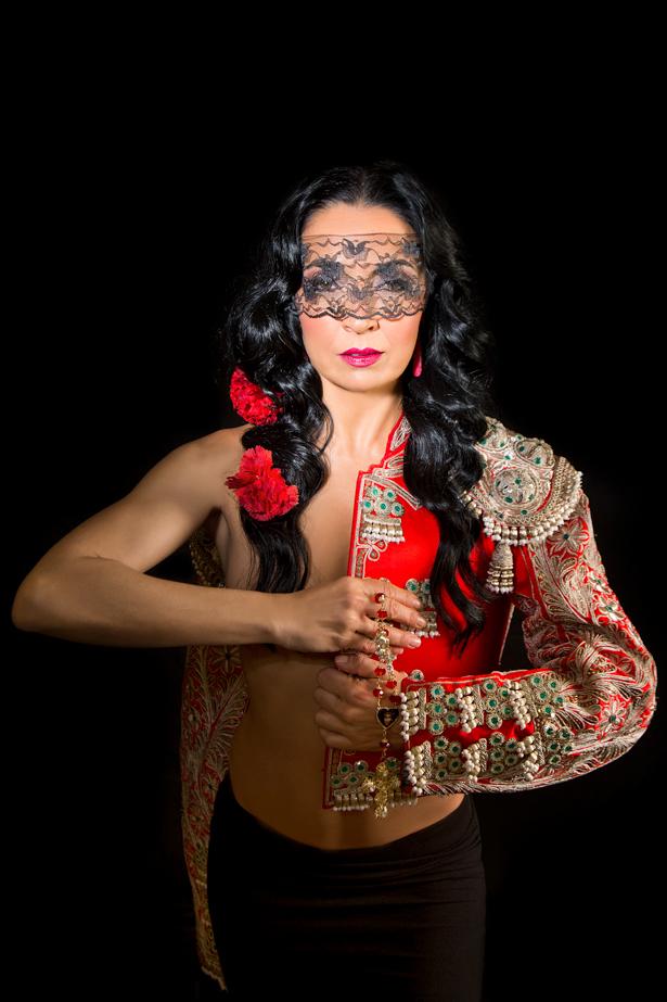 Spain, Andalucia, Sevilla,  Compania Flamenco Antonio Andrade, Ursula Moreno
