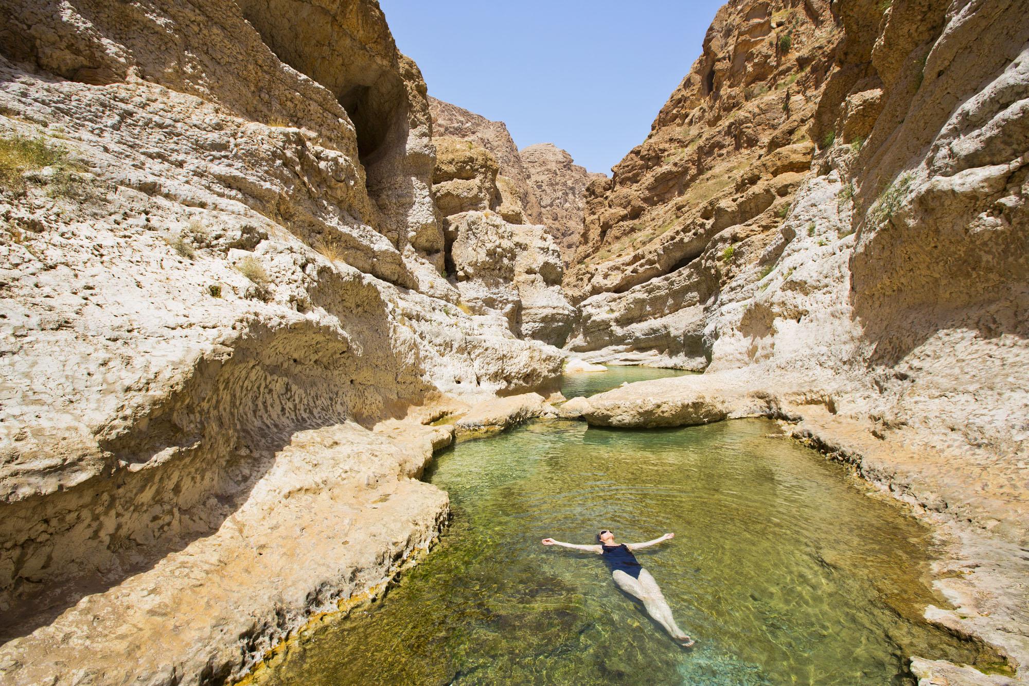 Arabische Halbinsel, Sultanat Oman, Wadi Shab